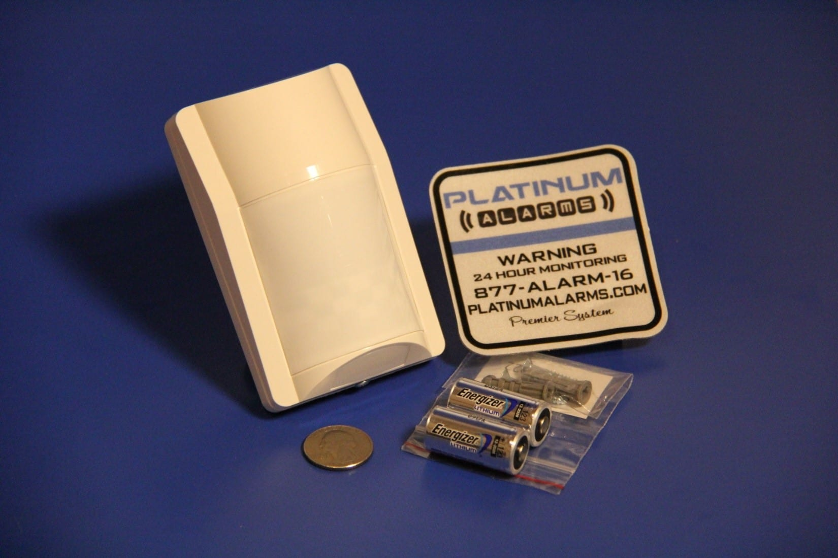 Wide Area Motion Detector With Pet Immunity